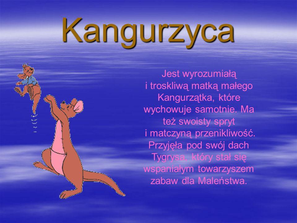 Kangurzyca Jest wyrozumiałą