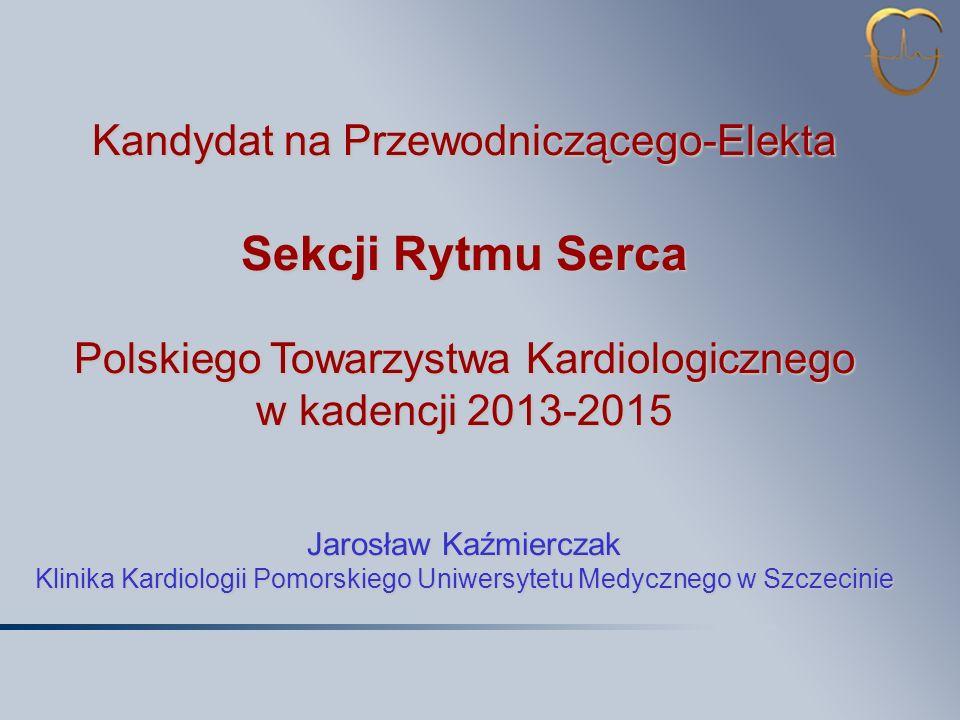 Sekcji Rytmu Serca Kandydat na Przewodniczącego-Elekta