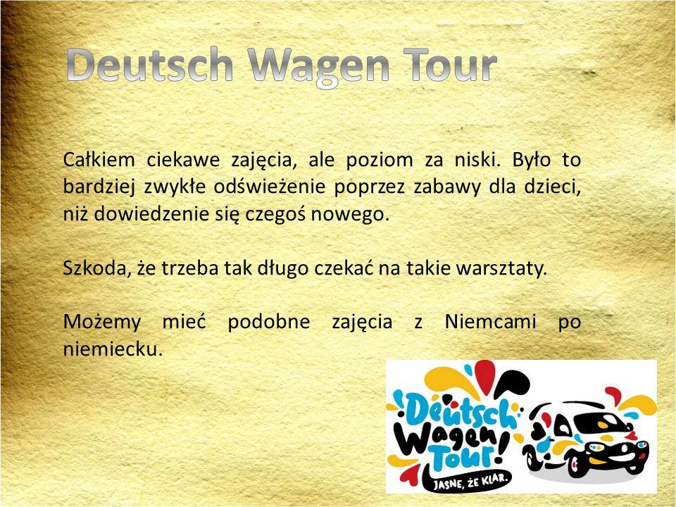 Deutsch Wagen Tour