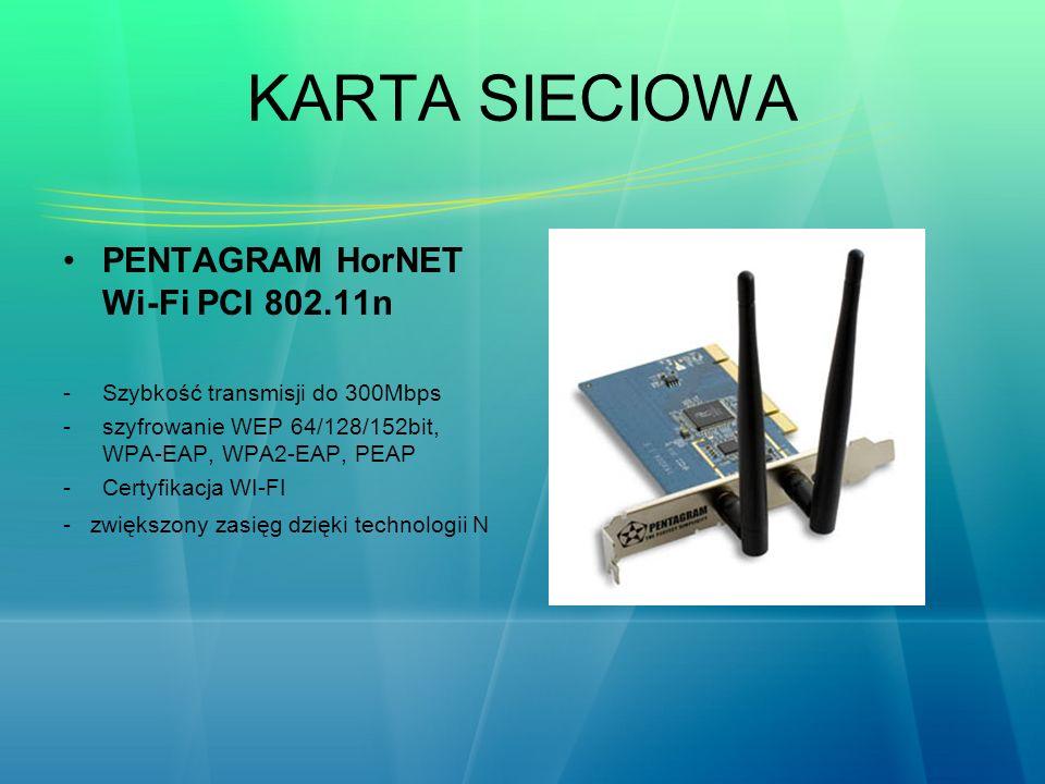 KARTA SIECIOWA PENTAGRAM HorNET Wi-Fi PCI 802.11n