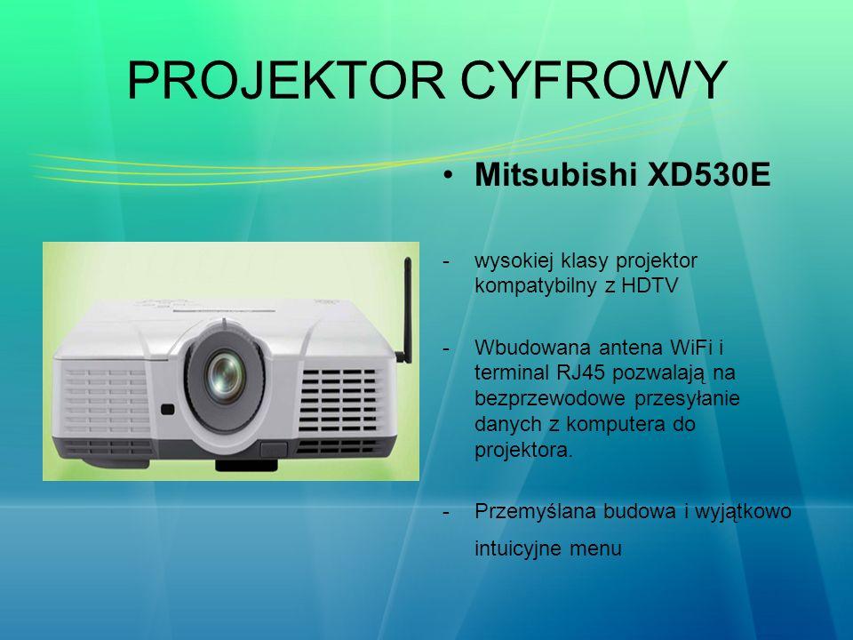 PROJEKTOR CYFROWY Mitsubishi XD530E
