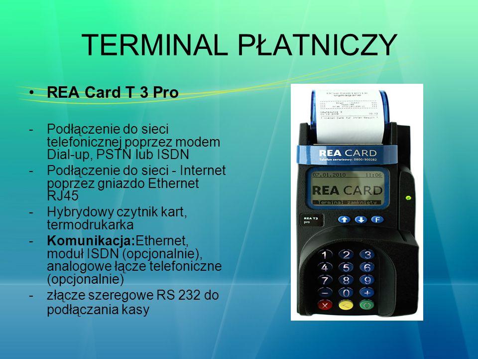 TERMINAL PŁATNICZY REA Card T 3 Pro