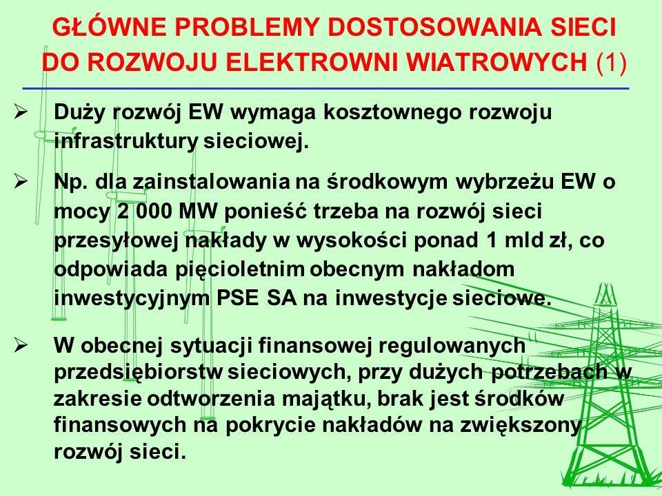 GŁÓWNE PROBLEMY DOSTOSOWANIA SIECI DO ROZWOJU ELEKTROWNI WIATROWYCH (1)