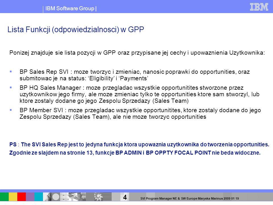 Lista Funkcji (odpowiedzialnosci) w GPP