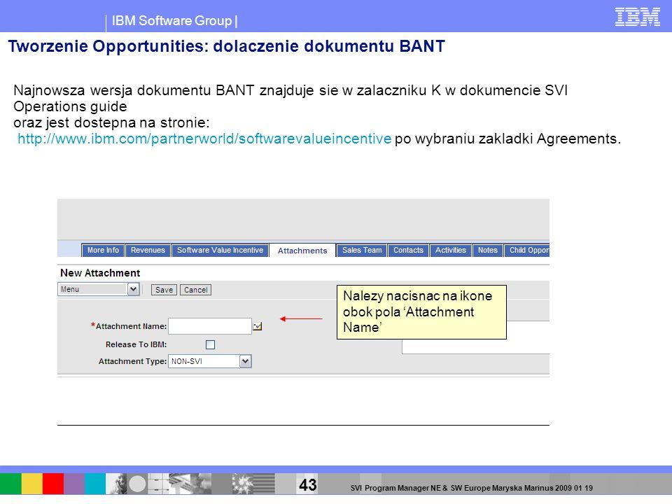 Tworzenie Opportunities: dolaczenie dokumentu BANT