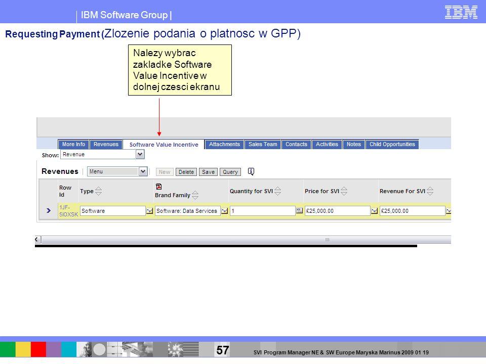 Requesting Payment (Zlozenie podania o platnosc w GPP)