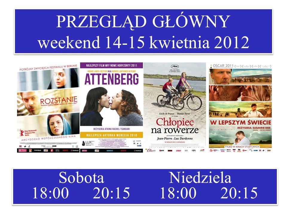 PRZEGLĄD GŁÓWNY weekend 14-15 kwietnia 2012