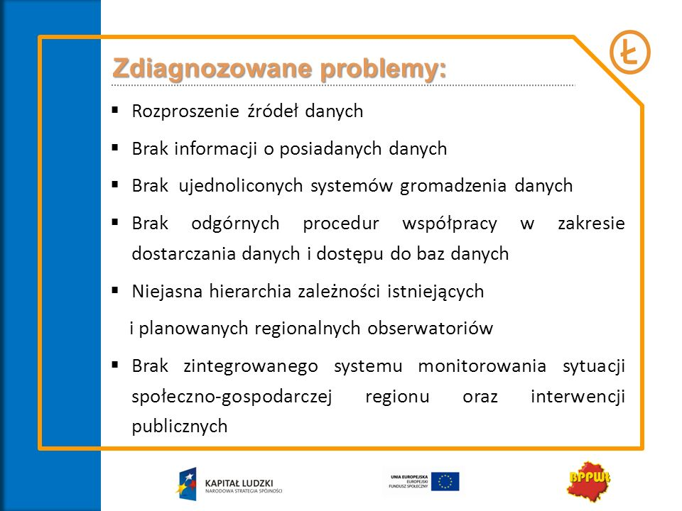 Zdiagnozowane problemy: