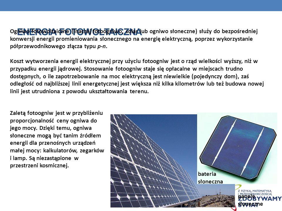 ENERGIA FOTOWOLTAICZNA