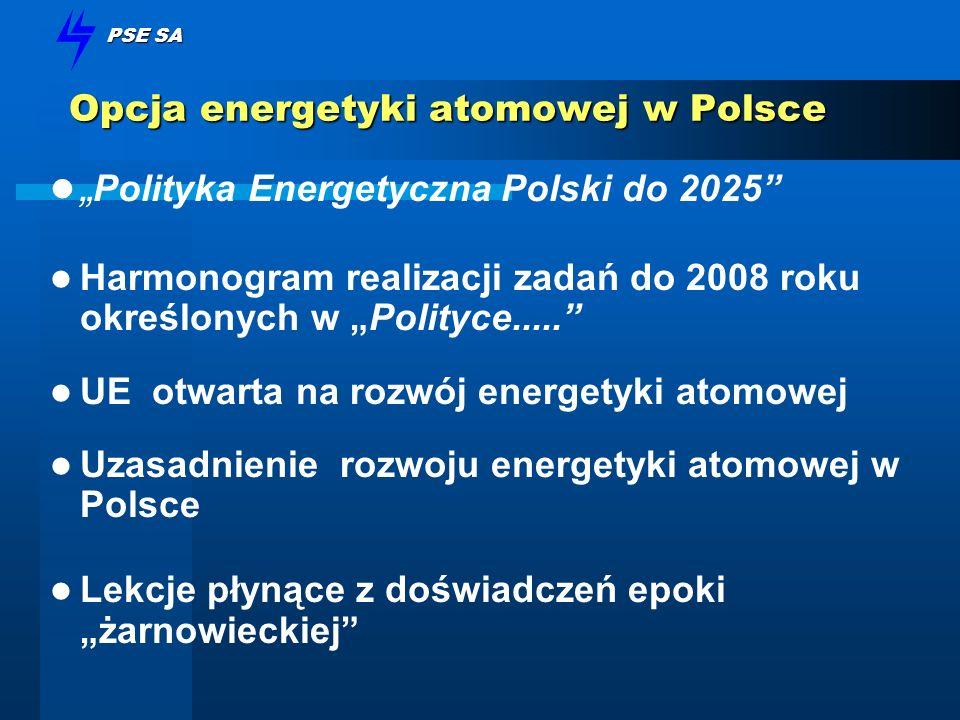 Opcja energetyki atomowej w Polsce