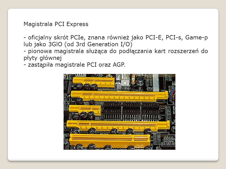 Magistrala PCI Express