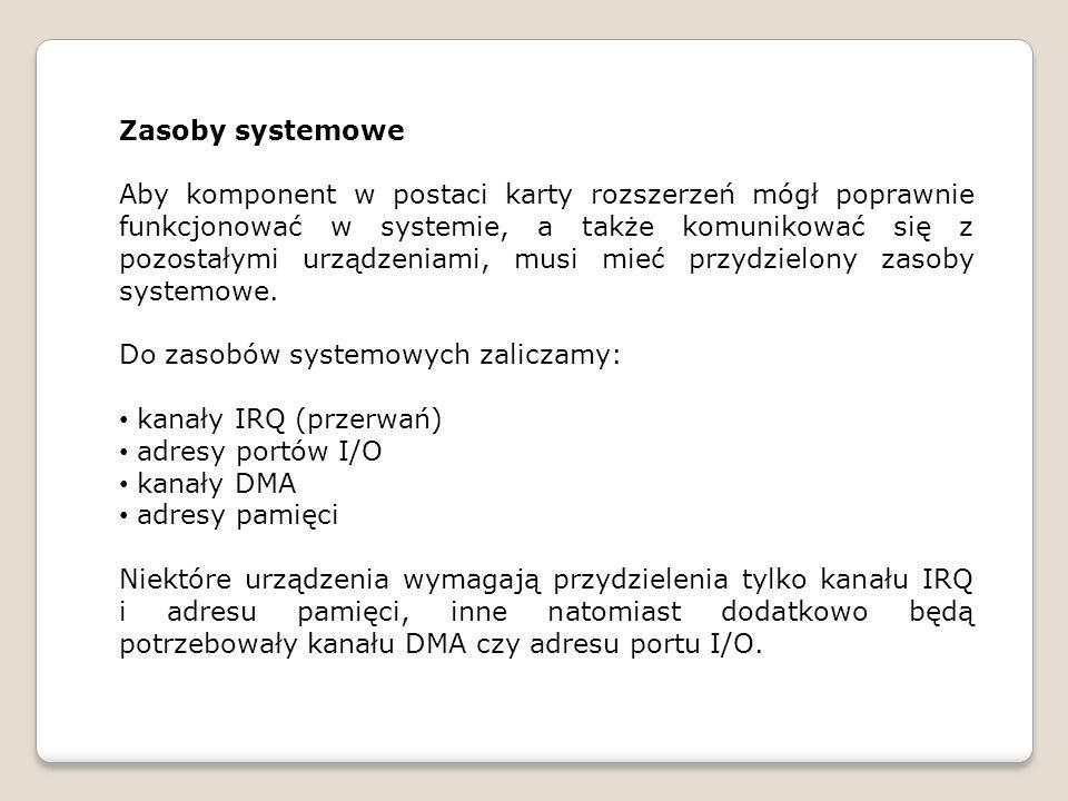 Zasoby systemowe