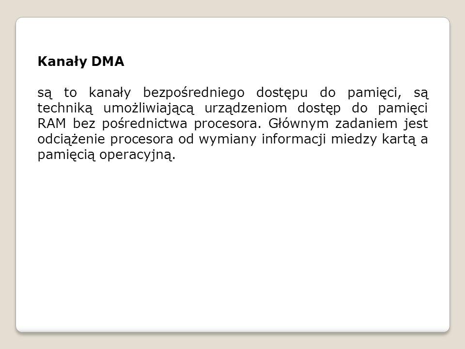 Kanały DMA
