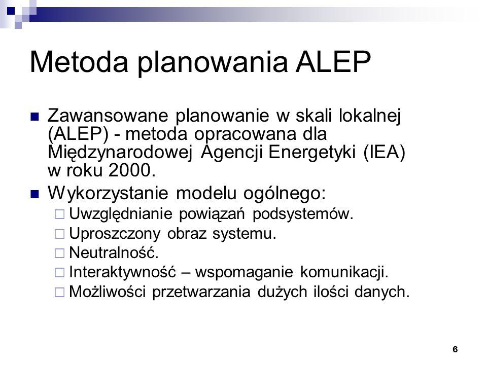 Metoda planowania ALEP