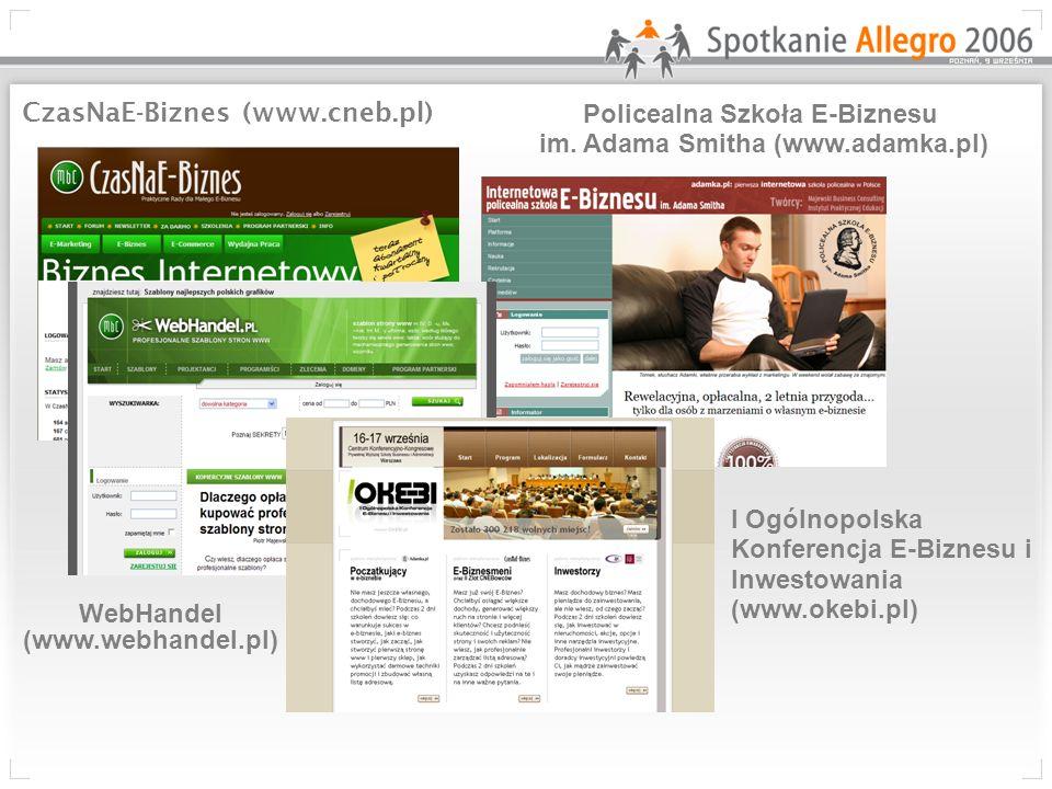 CzasNaE-Biznes (www.cneb.pl) Policealna Szkoła E-Biznesu