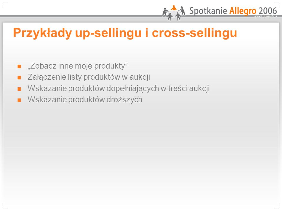 Przykłady up-sellingu i cross-sellingu