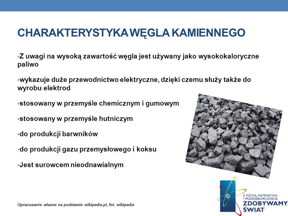 Charakterystyka węgla kamiennego