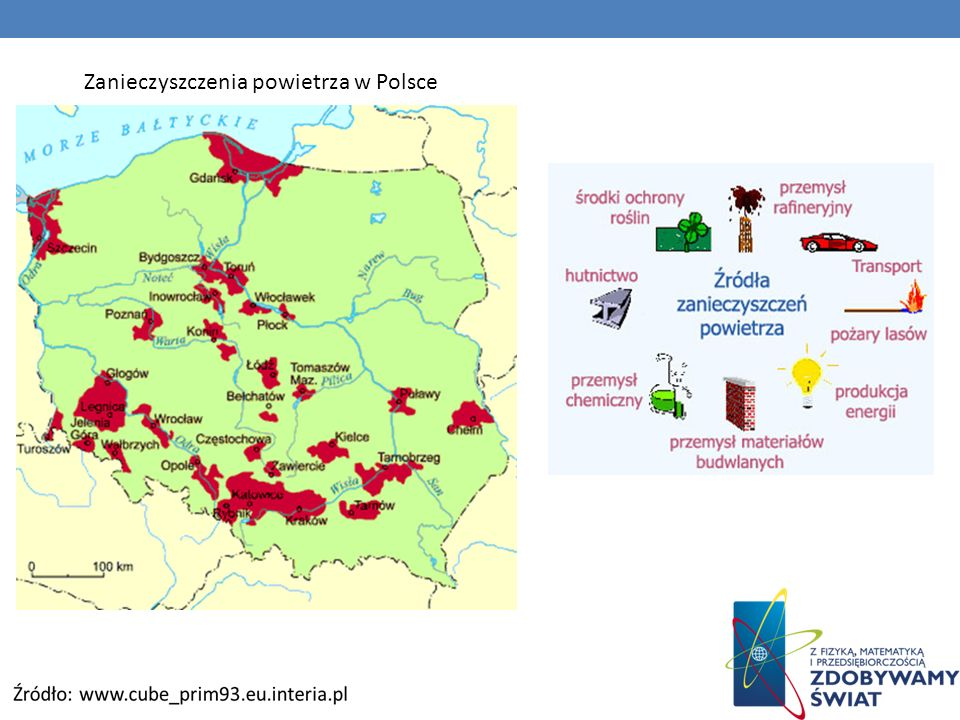 Zanieczyszczenia powietrza w Polsce