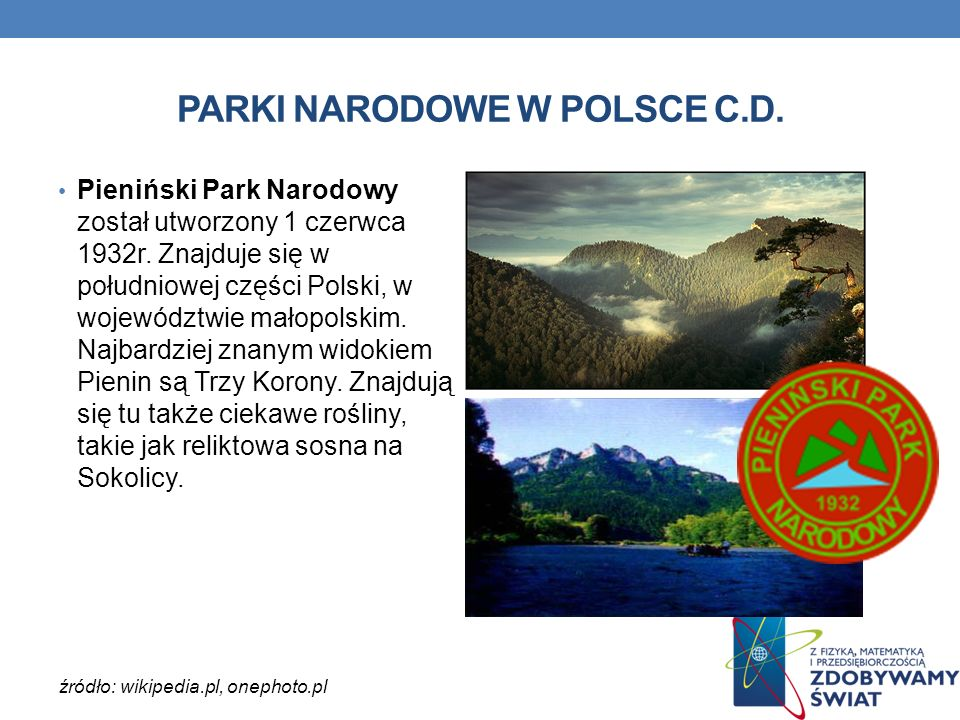 PARKI NARODOWE W POLSCE C.D.