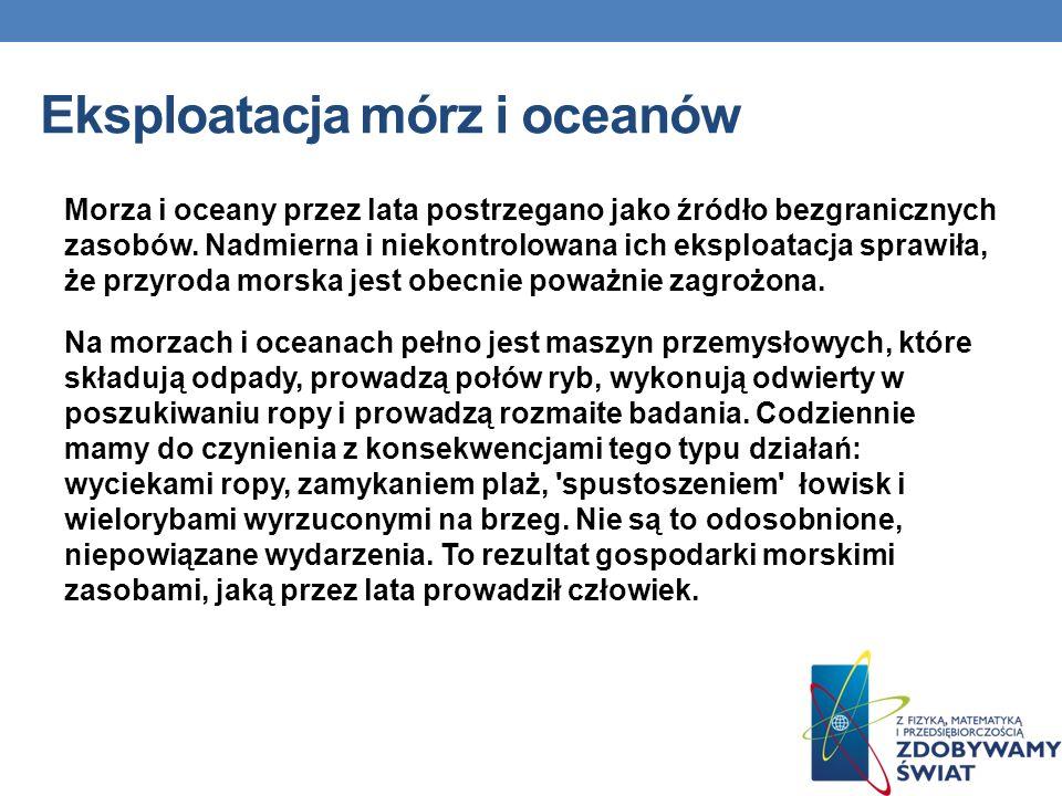 Eksploatacja mórz i oceanów