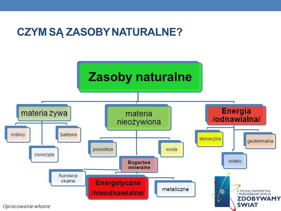 Czym są zasoby naturalne