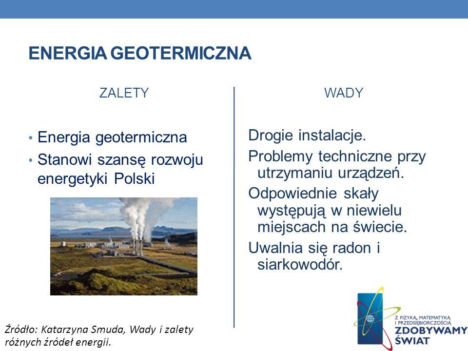 Energia geotermiczna Energia geotermiczna