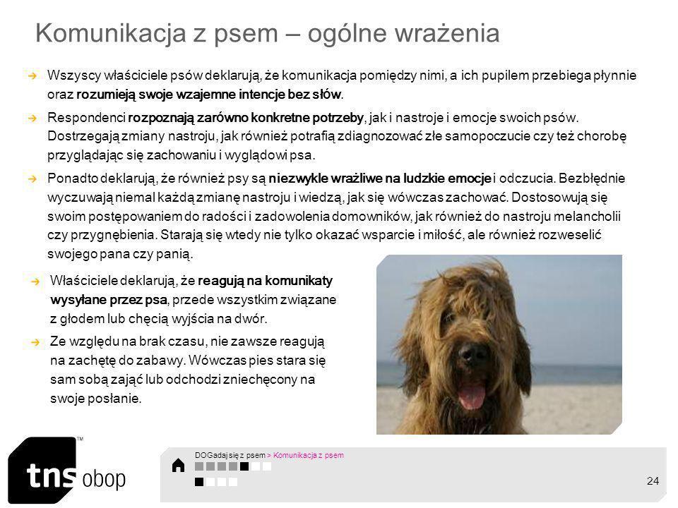 Komunikacja z psem – ogólne wrażenia