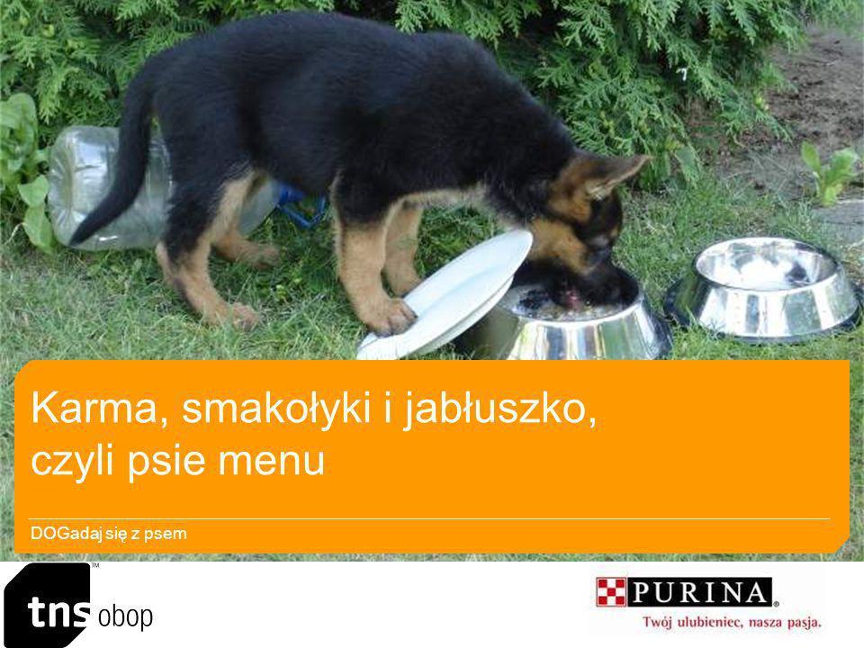 Karma, smakołyki i jabłuszko, czyli psie menu