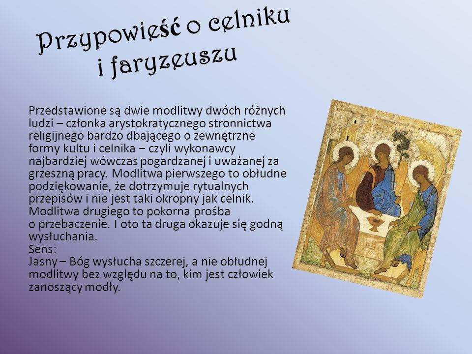 Przypowieść o celniku i faryzeuszu