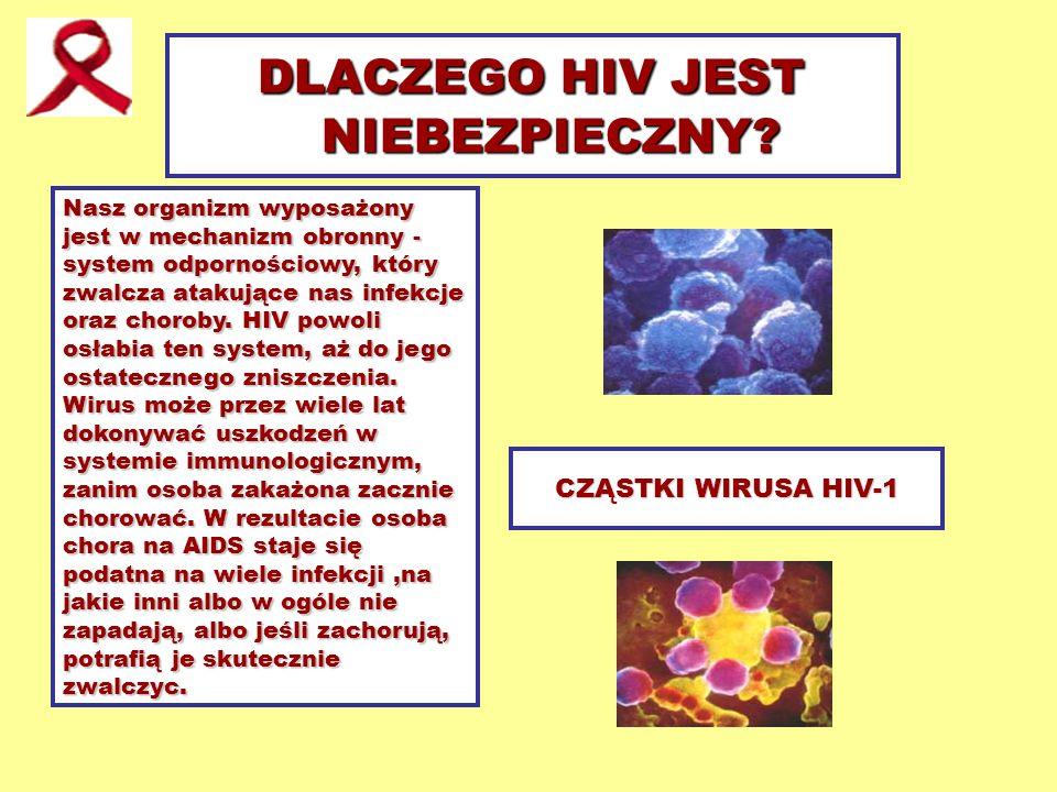 DLACZEGO HIV JEST NIEBEZPIECZNY