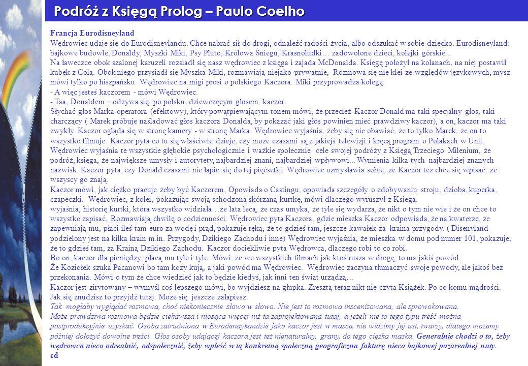 Podróż z Księgą Prolog – Paulo Coelho