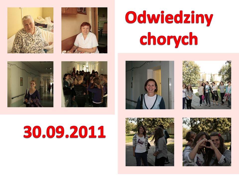 Odwiedziny chorych 30.09.2011
