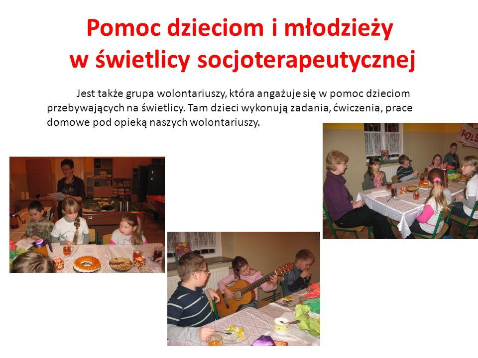 Pomoc dzieciom i młodzieży w świetlicy socjoterapeutycznej