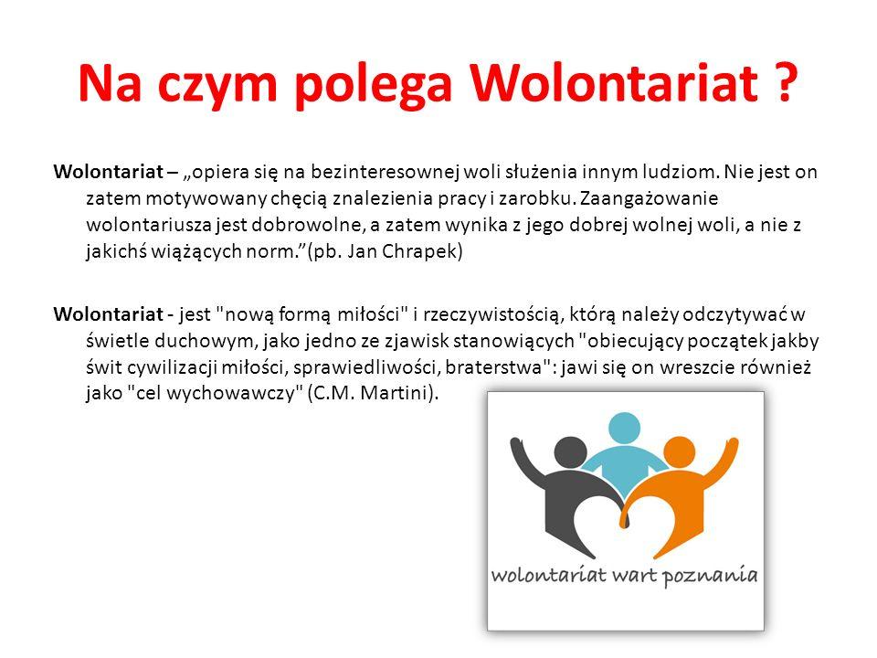 Na czym polega Wolontariat