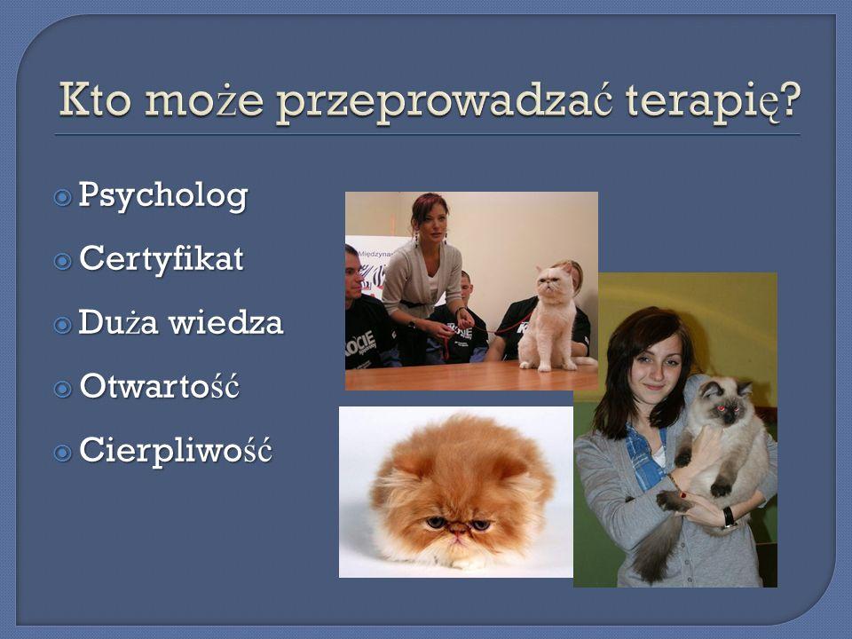 Kto może przeprowadzać terapię