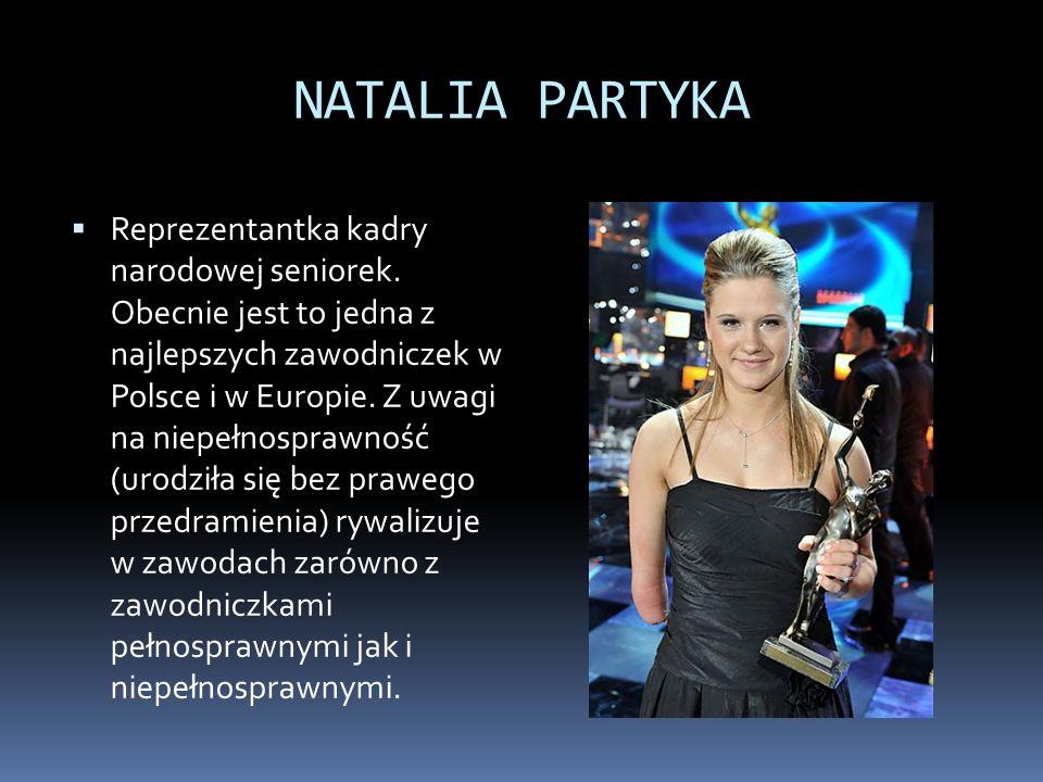 NATALIA PARTYKA