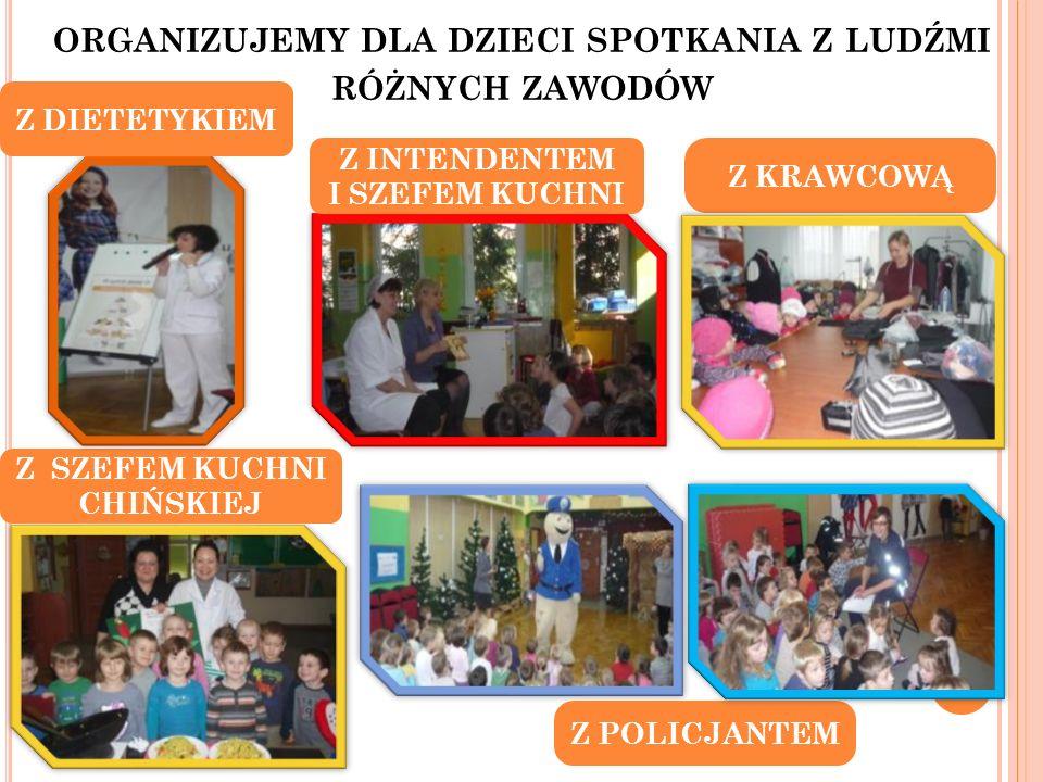 organizujemy dla dzieci spotkania z ludźmi różnych zawodów