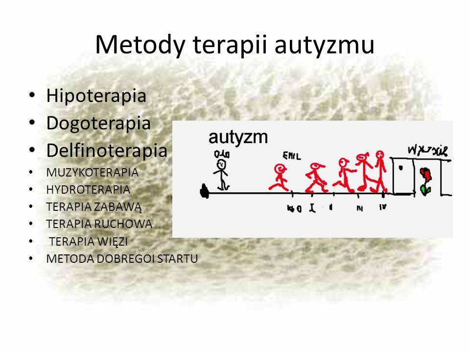 Metody terapii autyzmu