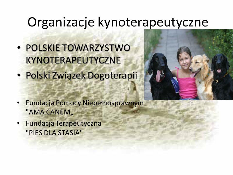 Organizacje kynoterapeutyczne