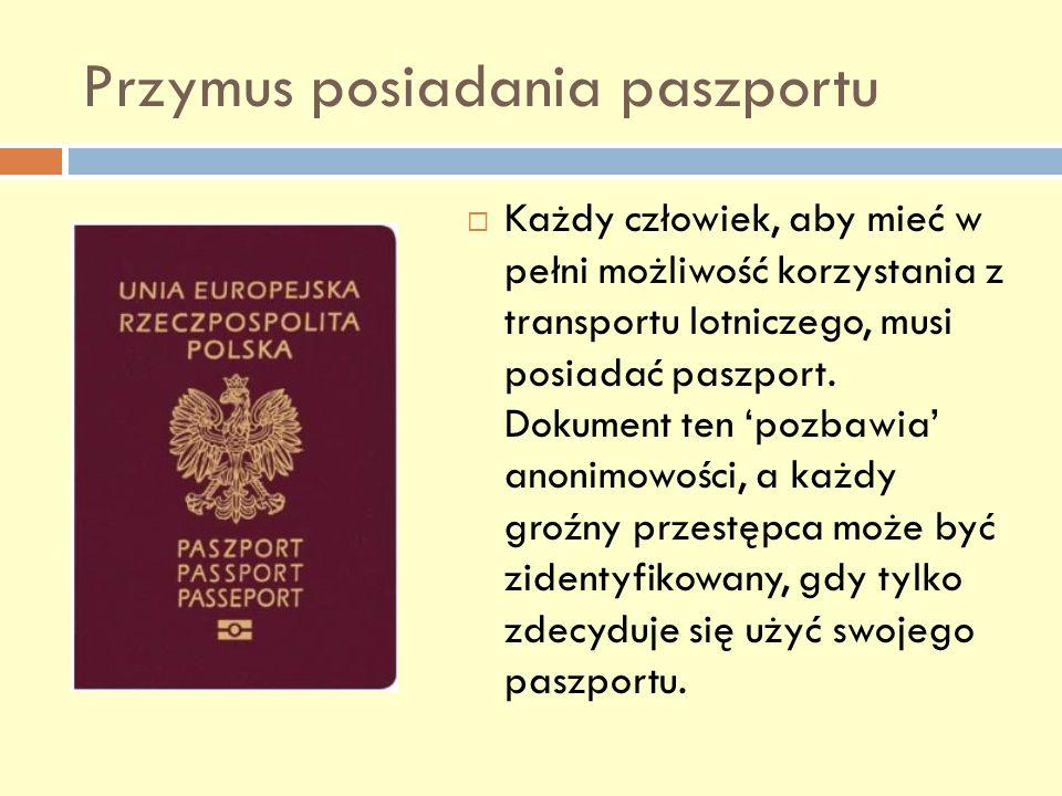 Przymus posiadania paszportu