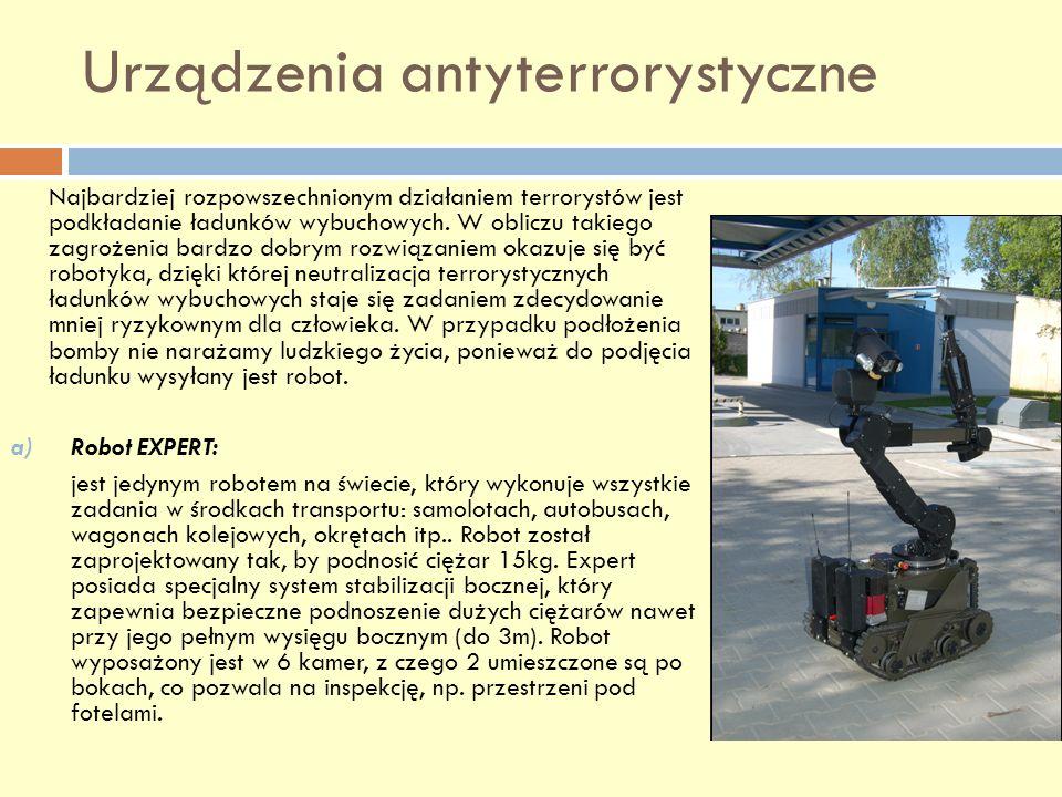 Urządzenia antyterrorystyczne