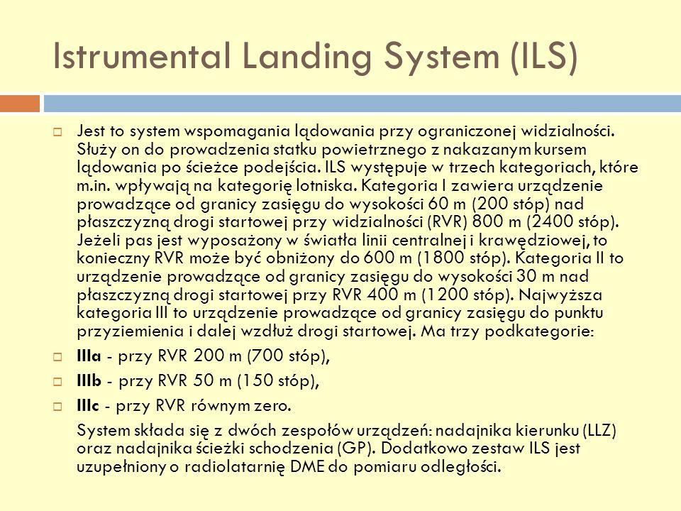 Istrumental Landing System (ILS)