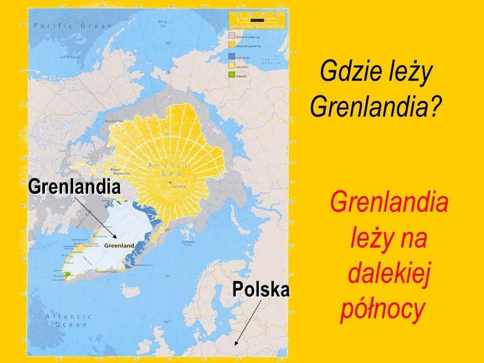Grenlandia leży na dalekiej północy