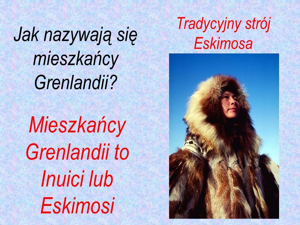 Jak nazywają się mieszkańcy Grenlandii