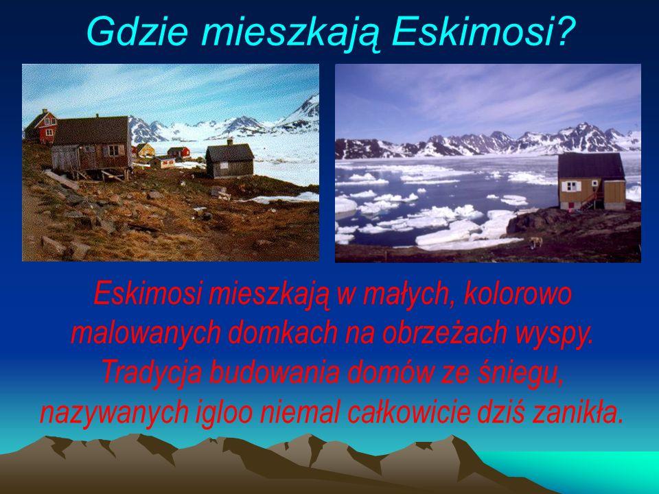 Gdzie mieszkają Eskimosi