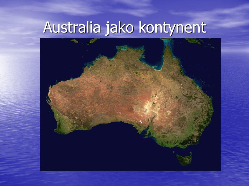 Australia jako kontynent