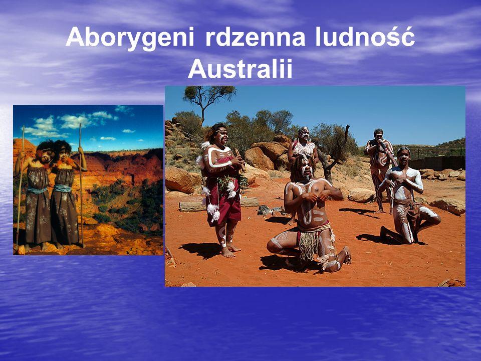 Aborygeni rdzenna ludność Australii