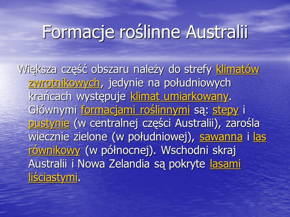 Formacje roślinne Australii