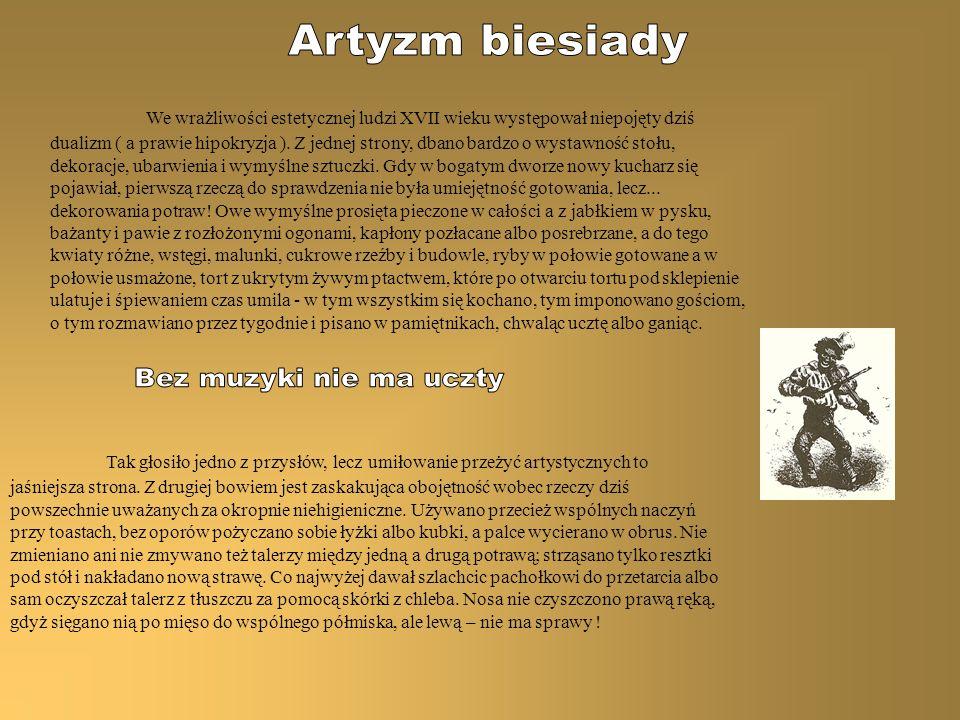 Artyzm biesiady