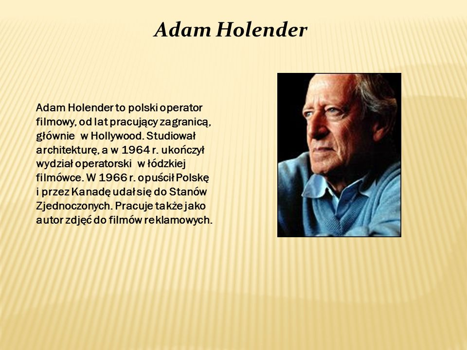Adam Holender